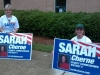 Sarah at the Polls for the Run Off!